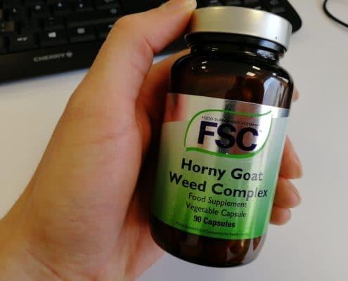Das Produkt, das für den Hory Goat Weed Test zum Kauf angeboten wurde
