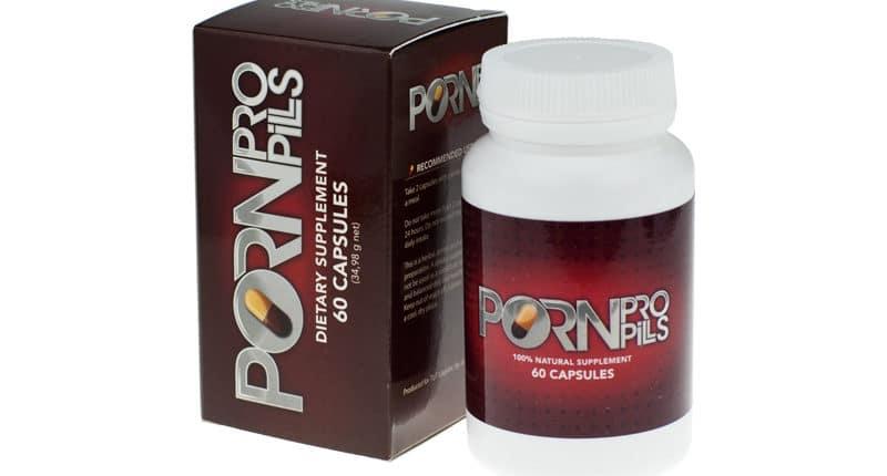 Das Produkt, welches für den Porn Pro Pills Test bestellt wurde