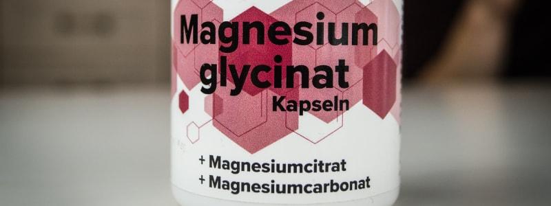 Magnesium für einen erhöhten Testosteronspiegel.