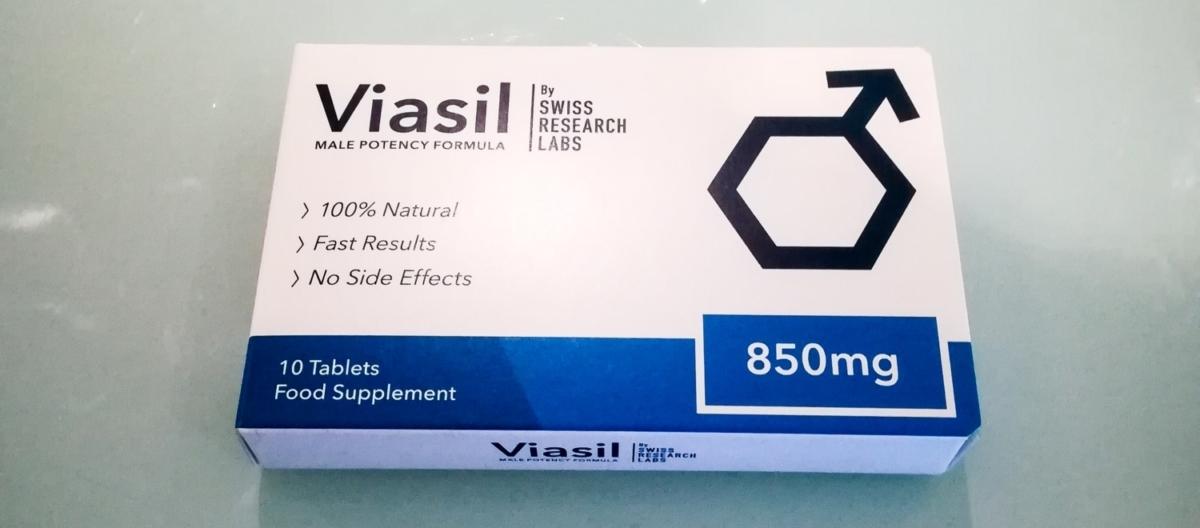 Viasil Packung Produktfoto