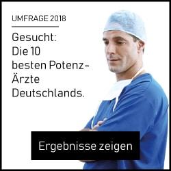 Umfrage zu den besten Potenz-Ärzten in 2018